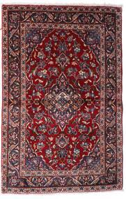Keshan Matto 97X150 Itämainen Käsinsolmittu Tummanpunainen (Villa, Persia/Iran)