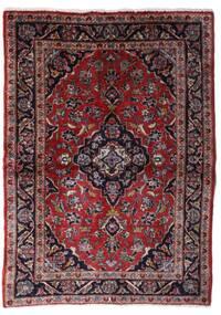 Keshan Matto 101X140 Itämainen Käsinsolmittu Tummanruskea/Tummanpunainen (Villa, Persia/Iran)