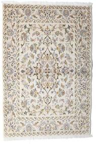 Keshan Matto 100X148 Itämainen Käsinsolmittu Vaaleanharmaa/Beige (Villa, Persia/Iran)