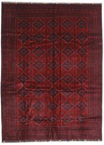 Kunduz Matto 293X395 Itämainen Käsinsolmittu Tummanpunainen/Tummanruskea Isot (Villa, Afganistan)