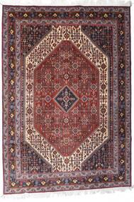 Gabbeh Kashkooli Matto 205X302 Moderni Käsinsolmittu Tummanpunainen/Vaaleanvioletti (Villa, Persia/Iran)