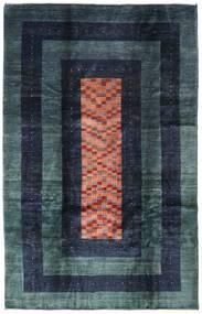 Gabbeh Kashkooli Matto 201X310 Moderni Käsinsolmittu Tummansininen (Villa, Persia/Iran)