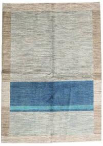 Battuta Matto 164X230 Moderni Käsinsolmittu Vaaleanharmaa/Sininen (Villa, Afganistan)