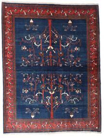Gabbeh Kashkooli Matto 154X200 Moderni Käsinsolmittu Tummanvioletti/Tummansininen (Villa, Persia/Iran)