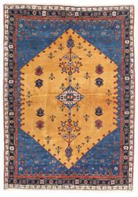 Gabbeh Kashkooli Matto 124X174 Moderni Käsinsolmittu Vaaleanruskea/Tummansininen (Villa, Persia/Iran)