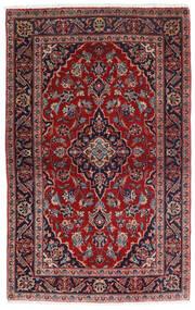 Keshan Matto 98X158 Itämainen Käsinsolmittu Tummanpunainen/Tummansininen (Villa, Persia/Iran)