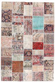 Patchwork - Persien/Iran Matto 200X299 Moderni Käsinsolmittu Vaaleanharmaa/Vaaleanpunainen (Villa, Persia/Iran)