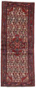 Asadabad Matto 79X192 Itämainen Käsinsolmittu Käytävämatto Tummanpunainen (Villa, Persia/Iran)