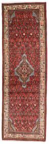 Asadabad Matto 76X236 Itämainen Käsinsolmittu Käytävämatto Tummanruskea/Tummanpunainen (Villa, Persia/Iran)