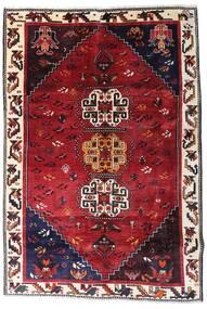 Ghashghai Matto 179X266 Itämainen Käsinsolmittu Tummanpunainen/Tummanruskea (Villa, Persia/Iran)