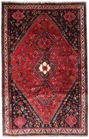 Ghashghai Matto 166X259 Itämainen Käsinsolmittu Tummanpunainen/Tummanruskea (Villa, Persia/Iran)
