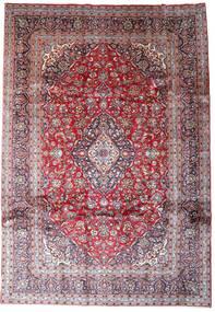 Keshan Matto 246X354 Itämainen Käsinsolmittu Vaaleanvioletti/Tummanpunainen (Villa, Persia/Iran)