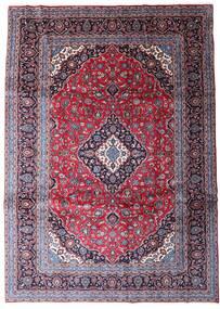 Keshan Matto 247X344 Itämainen Käsinsolmittu Tummanvioletti/Vaaleanvioletti (Villa, Persia/Iran)