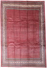 Sarough Mir Matto 250X366 Itämainen Käsinsolmittu Punainen/Vaaleanpunainen Isot (Villa, Persia/Iran)