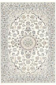 Nain 9La Matto 118X179 Itämainen Käsinsolmittu Vaaleanharmaa/Beige/Valkoinen/Creme (Villa/Silkki, Persia/Iran)