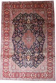 Najafabad Matto 234X344 Itämainen Käsinsolmittu Tummanpunainen/Vaaleanvioletti (Villa, Persia/Iran)