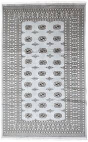 Pakistan Bokhara 2Ply Matto 199X310 Itämainen Käsinsolmittu Tummanharmaa/Vaaleanharmaa/Valkoinen/Creme (Villa, Pakistan)