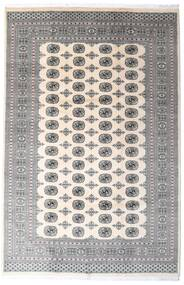 Pakistan Bokhara 2Ply Matto 200X305 Itämainen Käsinsolmittu Vaaleanharmaa/Beige/Tummanharmaa (Villa, Pakistan)