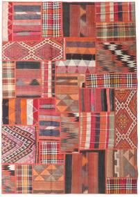 Tekkeh Kelim Matto 161X231 Moderni Käsinkudottu Tummanpunainen/Ruoste (Villa, Persia/Iran)