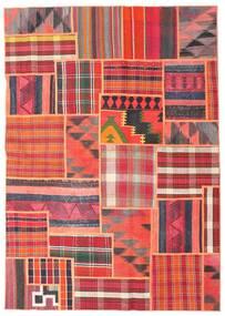Tekkeh Kelim Matto 163X230 Moderni Käsinkudottu Vaaleanpunainen/Ruskea (Villa, Persia/Iran)