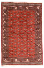 Pakistan Bokhara 2Ply Matto 186X280 Itämainen Käsinsolmittu Tummanpunainen/Ruoste (Villa, Pakistan)