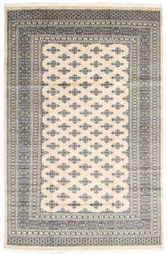 Pakistan Bokhara 2Ply Matto 182X279 Itämainen Käsinsolmittu Vaaleanharmaa/Beige (Villa, Pakistan)