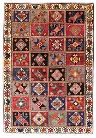 Ghashghai Matto 136X197 Itämainen Käsinsolmittu Tummanpunainen/Tummanruskea (Villa, Persia/Iran)