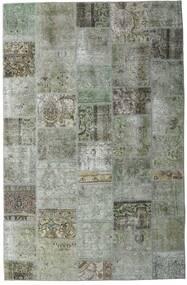 Patchwork - Persien/Iran Matto 200X305 Moderni Käsinsolmittu Vaaleanharmaa/Tummanharmaa (Villa, Persia/Iran)