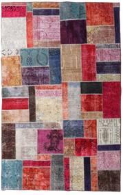 Patchwork - Persien/Iran Matto 192X307 Moderni Käsinsolmittu Vaaleanharmaa/Ruskea (Villa, Persia/Iran)