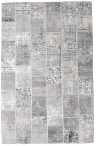 Patchwork - Persien/Iran Matto 196X301 Moderni Käsinsolmittu Vaaleanharmaa/Valkoinen/Creme (Villa, Persia/Iran)