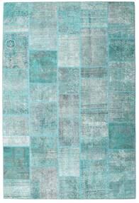 Patchwork - Persien/Iran Matto 203X300 Moderni Käsinsolmittu Vaaleansininen/Siniturkoosi (Villa, Persia/Iran)