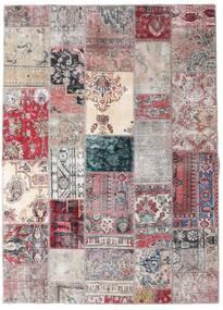 Patchwork - Persien/Iran Matto 173X242 Moderni Käsinsolmittu Vaaleanharmaa/Vaaleanvioletti (Villa, Persia/Iran)