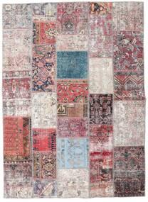 Patchwork - Persien/Iran Matto 173X239 Moderni Käsinsolmittu Vaaleanharmaa/Vaaleanvioletti (Villa, Persia/Iran)