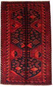 Lori Matto 161X262 Itämainen Käsinsolmittu Tummanpunainen/Ruoste (Villa, Persia/Iran)