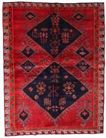 Lori Matto 172X226 Itämainen Käsinsolmittu Punainen/Tummanvioletti (Villa, Persia/Iran)