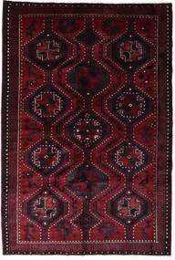 Lori Matto 168X250 Itämainen Käsinsolmittu Tummanpunainen (Villa, Persia/Iran)