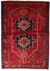 Lori Matto 170X238 Itämainen Käsinsolmittu Tummanpunainen/Tummanruskea (Villa, Persia/Iran)