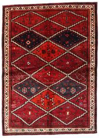 Lori Matto 162X224 Itämainen Käsinsolmittu Tummanpunainen (Villa, Persia/Iran)