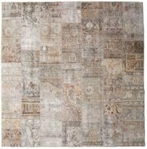 Patchwork - Persien/Iran Matto 252X256 Moderni Käsinsolmittu Neliö Vaaleanharmaa Isot (Villa, Persia/Iran)