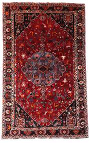 Ghashghai Matto 158X253 Itämainen Käsinsolmittu Tummanpunainen/Vaaleanpunainen (Villa, Persia/Iran)