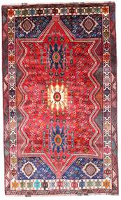 Ghashghai Matto 172X288 Itämainen Käsinsolmittu Ruoste/Tummanpunainen (Villa, Persia/Iran)