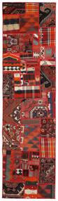 Tekkeh Kelim Matto 80X300 Moderni Käsinkudottu Käytävämatto Ruoste/Tummanpunainen (Villa, Persia/Iran)