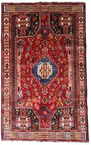 Ghashghai Matto 164X264 Itämainen Käsinsolmittu Tummanpunainen/Ruoste (Villa, Persia/Iran)