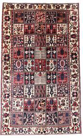 Bakhtiar Matto 160X260 Itämainen Käsinsolmittu Tummanruskea/Tummanpunainen (Villa, Persia/Iran)