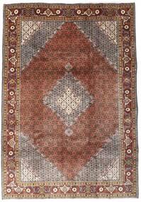 Ardebil Matto 198X283 Itämainen Käsinsolmittu Tummanpunainen/Ruskea (Villa, Persia/Iran)