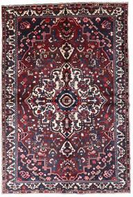 Bakhtiar Matto 160X241 Itämainen Käsinsolmittu Tummanpunainen/Musta (Villa, Persia/Iran)