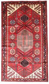 Hamadan Matto 147X252 Itämainen Käsinsolmittu Tummanpunainen/Ruoste (Villa, Persia/Iran)