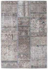 Patchwork - Persien/Iran Matto 105X159 Moderni Käsinsolmittu Vaaleanharmaa/Tummanharmaa (Villa, Persia/Iran)