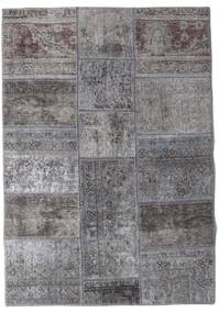 Patchwork - Persien/Iran Matto 106X152 Moderni Käsinsolmittu Vaaleanharmaa/Tummanharmaa (Villa, Persia/Iran)