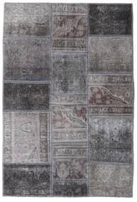 Patchwork - Persien/Iran Matto 104X155 Moderni Käsinsolmittu Tummanharmaa/Vaaleanharmaa (Villa, Persia/Iran)